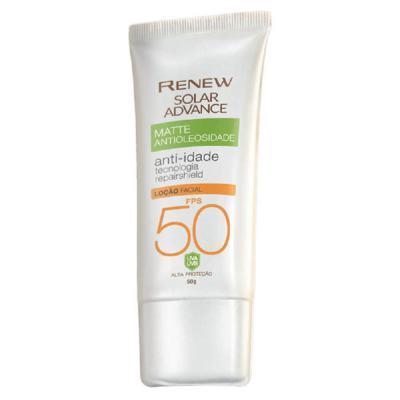Imagem 1 do produto Protetor Solar Facial Renew Advance Matte Anti-Idade FPS50 - 50g