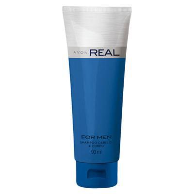 Shampoo Cabelo e Corpo Real - 90 ml