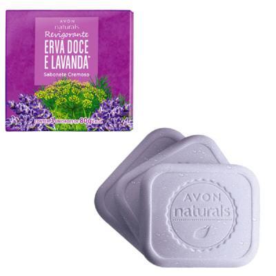 Imagem 1 do produto Sabonete Cremoso Naturals Erva Doce e Lavanda 3x 80 g
