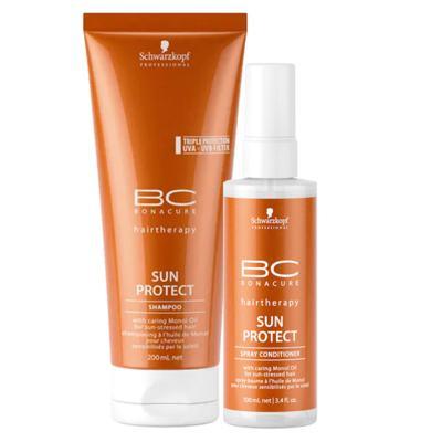 Schwarzkopf Professional BC Bonacure Sun Protect  Kit - Shampoo + Spray Condicionador - Kit