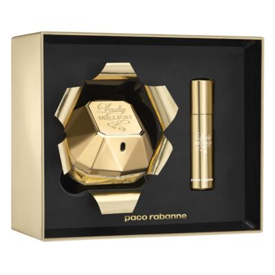 Paco Rabanne Lady Million Xmas Collector Kit - Perfume Feminino EDP + Desodorante - Kit