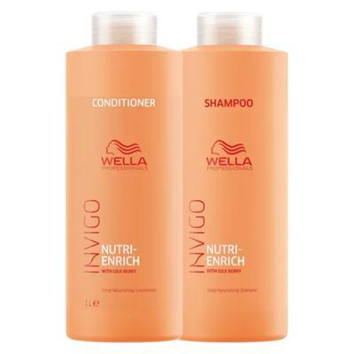 Wella Professionals Invigo Nutri-Enrich Kit - Shampoo + Condicionador - Kit