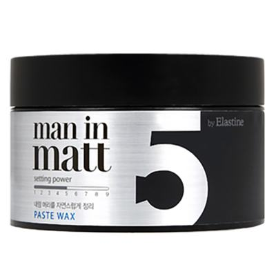 Pomada Modeladora Elastine - Clay Wax 5 Man in Matt - 80g