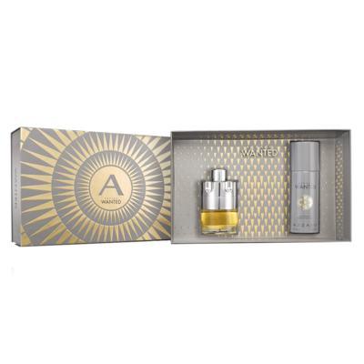 Wanted Eau de Toilette Azzaro Kit - Perfume Masculino + Miniatura - KIt