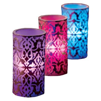 Imagem 1 do produto Vela Relaxmedic - Luxor LED - 3 Un