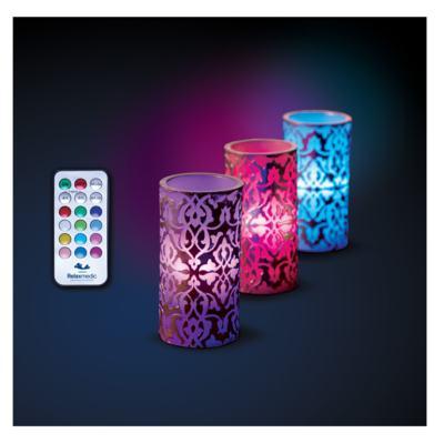 Imagem 3 do produto Vela Relaxmedic - Luxor LED - 3 Un