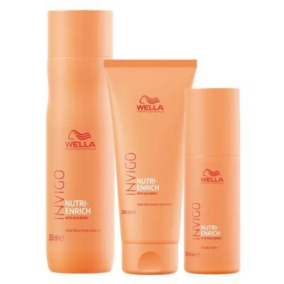 Wella Professionals Invigo Nutri-Enrich Kit - Shampoo + Condicionador + Wonder Balm - Kit
