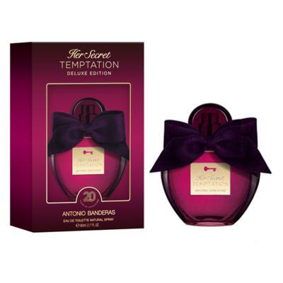 Imagem 1 do produto Her Secret Temptation Deluxe Edition Antonio Banderas Perfume Feminino - Eau de Toilette - 80ml