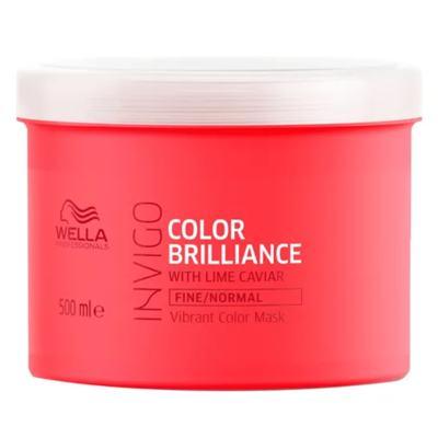 Imagem 4 do produto Kit Invigo Color Brilliance Tamanho Profissional Wella - Shampoo + Condicionador + Máscara + Booster - Kit