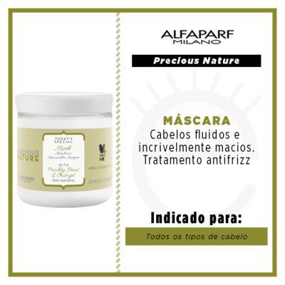 Imagem 3 do produto Alfaparf Precious Nature Long e Straight - Máscara Hidratante - 200ml