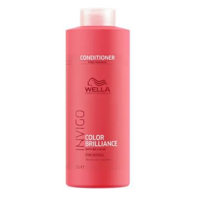 Imagem 3 do produto Kit Invigo Color Brilliance Tamanho Profissional Wella - Shampoo + Condicionador + Máscara - Kit