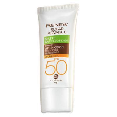 Imagem 1 do produto Protetor Solar Facial Renew Advance Matte com Cor Anti-Idade FPS50 50g - Protetor Solar Facial Renew Advance Matte com Cor Anti-Idade FPS50 50g - Clara