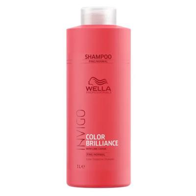 Imagem 2 do produto Kit Invigo Color Brilliance Tamanho Profissional Wella - Shampoo + Condicionador + Booster - Kit