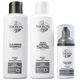 Kit Nioxin System 2 Shampoo 150ml + Condicionador 150ml + Leave-in 40ml