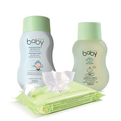 Imagem 1 do produto Kit Avon Baby Limpeza
