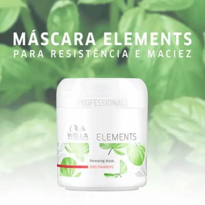 Imagem 2 do produto Mascara Wella Professionals Elements Renewing