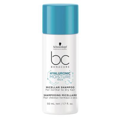 Schwarzkopf BC Hyaluronic Moisture Kick Micellar - Shampoo - 50ml