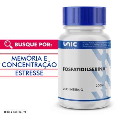Fosfatidilserina 200mg - 90 Cápsulas