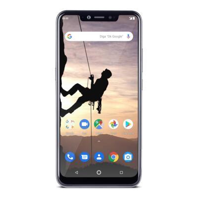 """Imagem 2 do produto Smartphone Multilaser MS80X 4G Android 8.1 Qualcomm 4GB RAM e 64GB Tela 6,2""""HD Câm Traseira 12MP+5MP Cam Frontal 16MP Dourado/Preto - P9088 - NB743 Copy"""