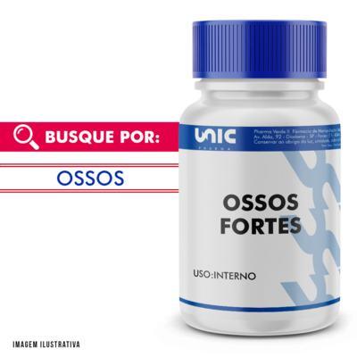 Vitamina D 400UI carbonato cálcio 600mg - 120 Cápsulas