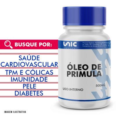 Imagem 1 do produto Óleo de primula 500mg - 90 Cápsulas