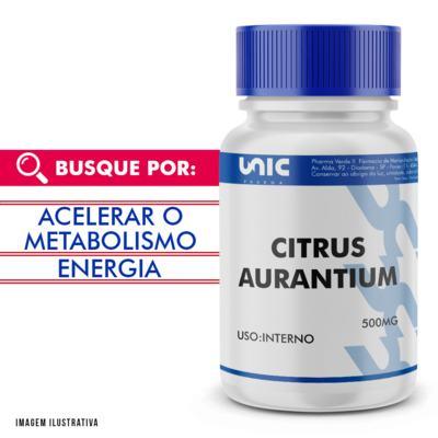Citrus aurantium 500mg - 120 Cápsulas