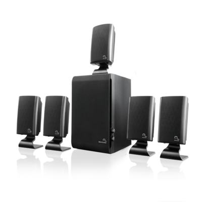 Home Theater 5.1 Multilaser 60W RMS Preto - SP088 - SP088