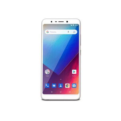 Imagem 1 do produto Smartphone Multilaser Ms60X 1Gb Ram 16Gb Tela 5,7? Android 8.1 Câmera 13Mp+8Mp Dourado/Branco - NB738 - NB738
