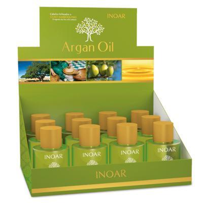 Imagem 2 do produto Inoar Argan Oil - Óleo de Tratamento Capilar - 12x 7ml