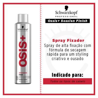 Imagem 4 do produto Schwarzkopf Professional Ossis+ Session Finish - Spray Fixador - 300ml