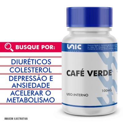 Café verde 100mg - 120 Cápsulas