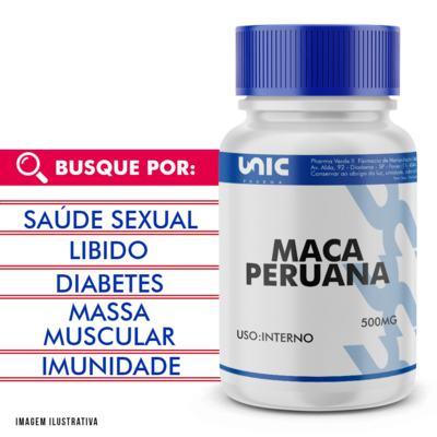 Imagem 1 do produto Maca peruana 500mg - 120 Cápsulas