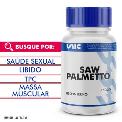 Saw palmetto 160mg - 90 Cápsulas