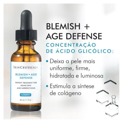 Imagem 5 do produto Blemish+ Age Defense SkinCeuticals - Tratamento Antiacne - 30ml