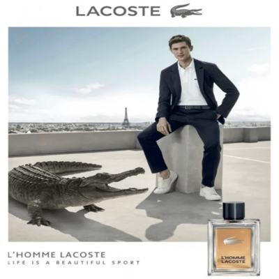 Imagem 7 do produto Lacoste L'homme Perfume Masculino Eau de Toilete - 50ml