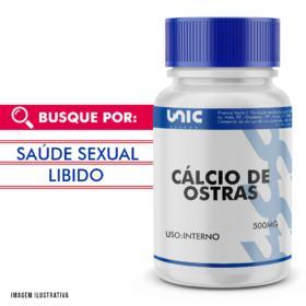 Cálcio de ostras 500mg - 90 Cápsulas