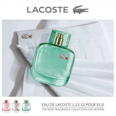 Imagem 3 do produto Perfume Eau de Lacoste L 12 12 Pour Elle Natural Eau de Toilette Feminino