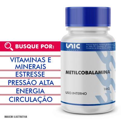 Metilcobalamina 1mg - 120 Cápsulas