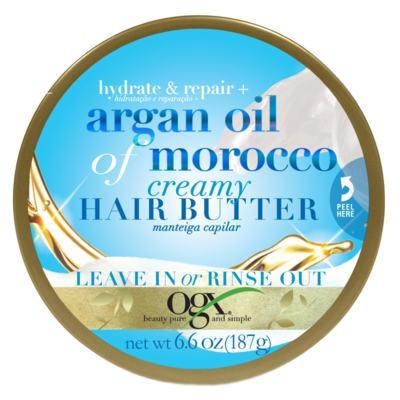 Imagem 1 do produto Hair Butter Argan Oil Of Morocco Ogx - 187g