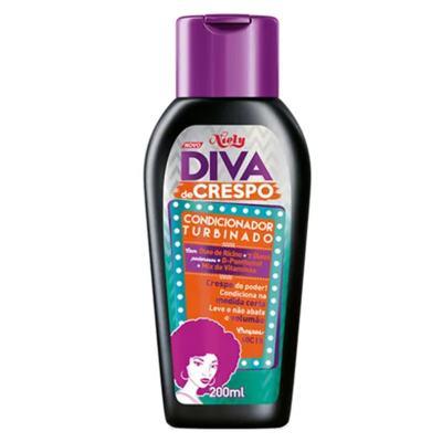 Imagem 3 do produto Diva de Crespo Soft Poo Niely - Shampoo + Condicionador + Creme para Pentear - Kit