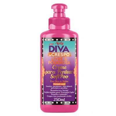Imagem 4 do produto Diva de Crespo Soft Poo Niely - Shampoo + Condicionador + Creme para Pentear - Kit