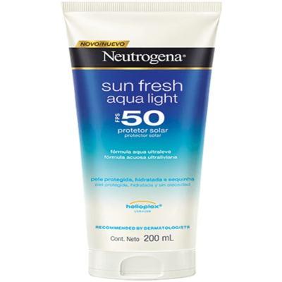 Imagem 1 do produto Protetor Solar Neutrogena Sun Fresh Aqua Light FPS 50