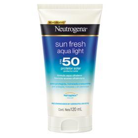 Protetor Solar Corporal Neutrogena Sun Fresh Aqua Ligth - Fps50 | 120ml