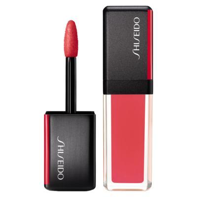 Batom Líquido Shiseido - LacquerInk LipShine - 306 Coral Spark