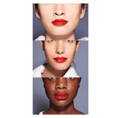 Imagem 4 do produto Batom Líquido Shiseido - LacquerInk LipShine - 304 Techno Red