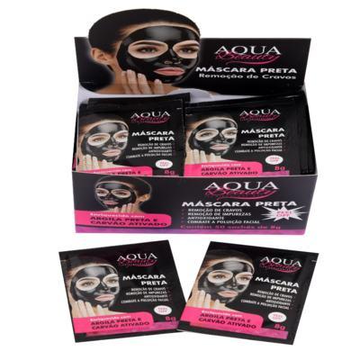 Imagem 2 do produto Máscara Facial Preta Aqua Beauty (5 sachês) -