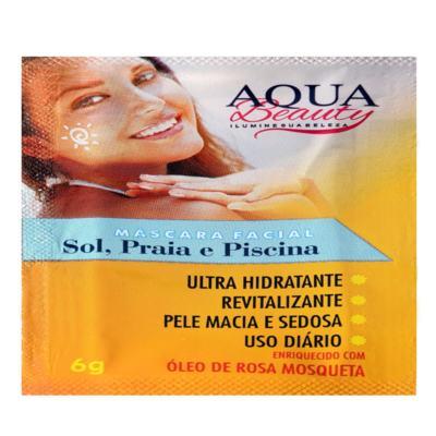 Imagem 2 do produto Máscara Facial Sol, Praia E Piscina Aqua Beauty (3 Sachês) -