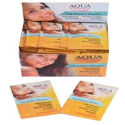 Imagem 3 do produto Máscara Facial Sol, Praia E Piscina Aqua Beauty (3 Sachês) -