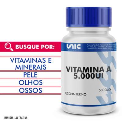 Imagem 1 do produto Vitamina a 5000ui - 120 Cápsulas