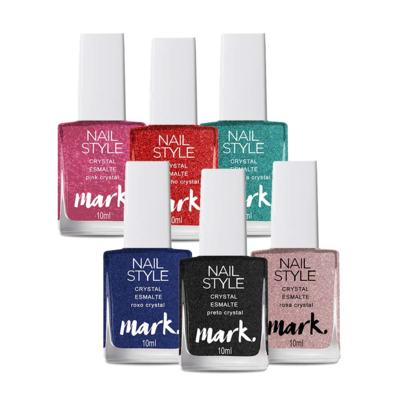 Kit Esmaltes Mark. Crystal